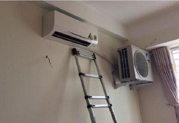 Tuyệt đối không nên lắp chung cục nóng và cục lạnh vào một phòng