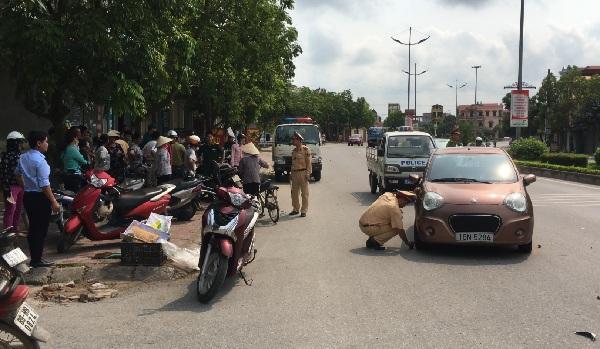 Vụ tai n.ạn tại đường Lê Văn Lương, thuộc địa bàn phường An Tảo, thành phố Hưng Yên