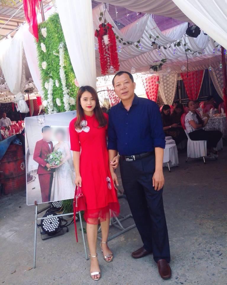 Hình ảnh của đám cưới gây xôn xao được chị họ của chú rể cung cấp.