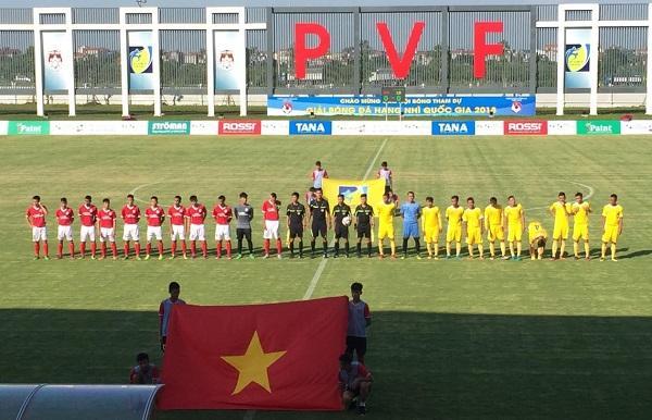 Đội hình ra sân của 2 CLB