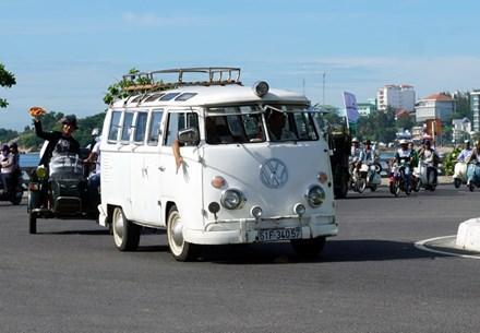 Xe Volkswagen Bus, được sản xuất năm 1962