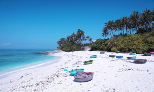 Đảo Điệp Sơn còn rất hoang sơ, không có nhiều dịch vụ. Ảnh: YouTube