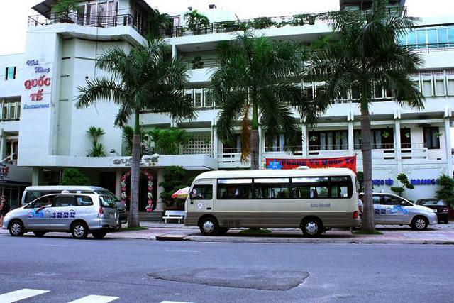 Khách sạn Quốc Tế thuộc phường Lộc Thọ, TP Nha Trang bị Công an tỉnh bất ngờ kiểm tra.