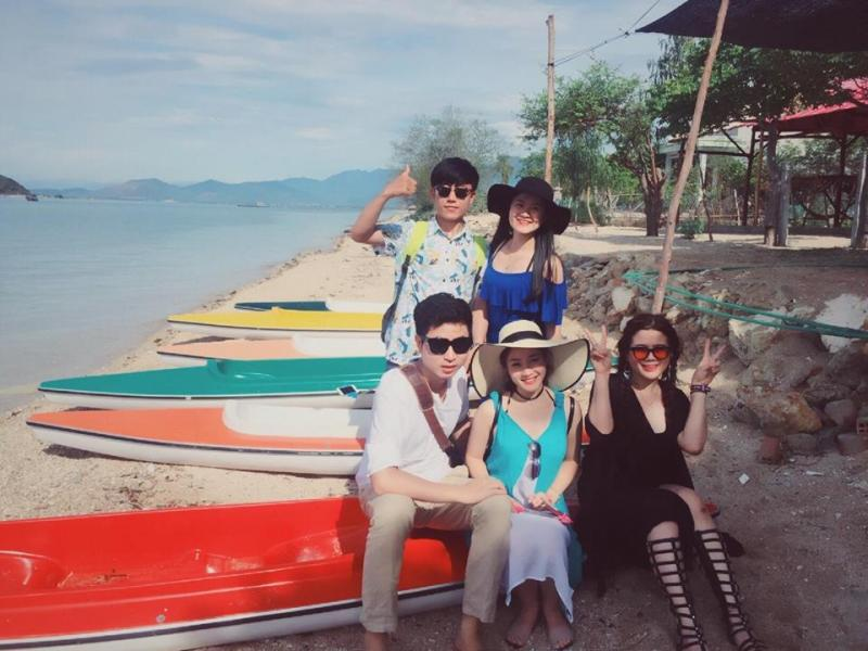 Chuyến đi đến Điệp Sơn, Trang Moon đồng hành cùng với 4 người bạn của mình. Ảnh: Trang Moon