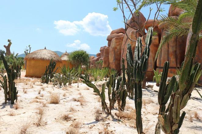 Làng Thổ dân với các loài cây sa mạc độc đáo: bao báp, xương rồng, cây chai…