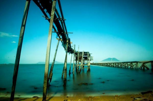 Không thể bỏ qua cây cầu cũng đặc biệt không kém ở Điệp Sơn đang gây sốt. (Nguồn: Trần Quí Thịnh)