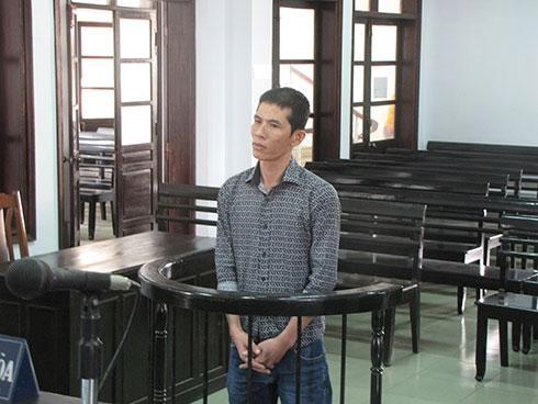Bị cáo Vũ Thanh Bình.