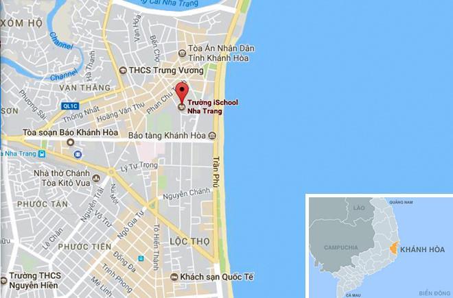 Trường THCS và THPT iSchool Nha Trang. Ảnh: Google Maps