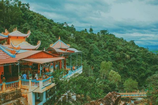 Một góc nhỏ ở chùa Suối Đỗ. (Nguồn: thienphu1608)