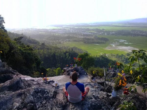 Từ trên cao bạn sẽ ngắm được nhiều cảnh đẹp ở Suối Đỗ. (Nguồn: sun_tija)