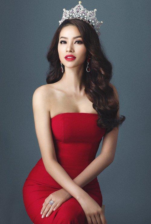 Hoa hậu Phạm Hương sẽ đảm nhận vai trò MC cho đêm bán kết HHHV Việt Nam 2017