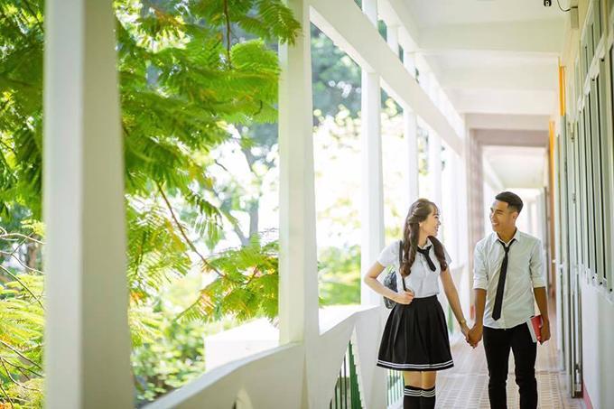 Tiết lộ với Ngoisao.net, Quốc Chí cho biết anh quen bạn gái trong một lần đi uống café cùng bạn bè. Ấn tượng với vẻ đẹp của cô nàng, tiền vệ của Khánh Hòa xin số làm quen nhưng bị từ chối.