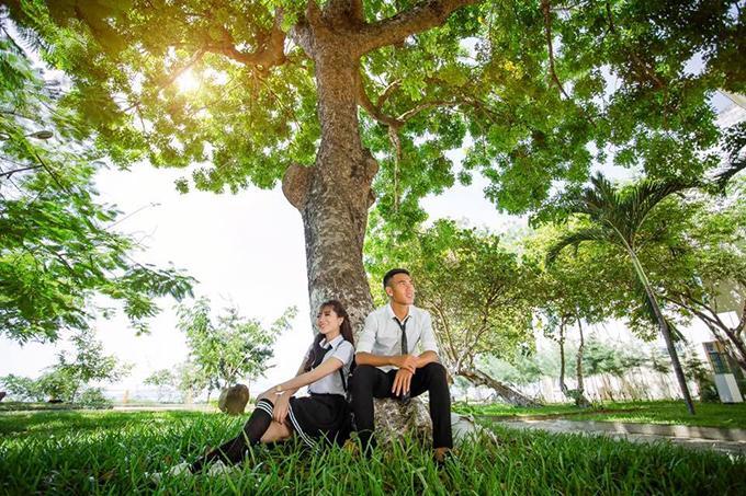 Quốc Chí và Chúc Phương vừa tổ chức tiệc cưới mời họ hàng nhà gái ở Bình Định.