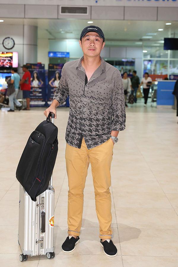 MC Anh Tuấn từ Hà Nội vào.
