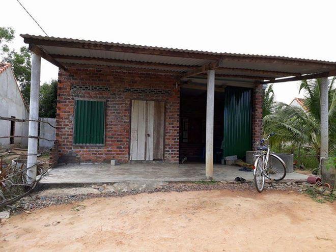 Ngôi nhà của gia đình chị Châu