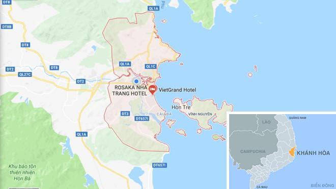 TP Nha Trang (Khánh Hòa). Ảnh: Google Maps.