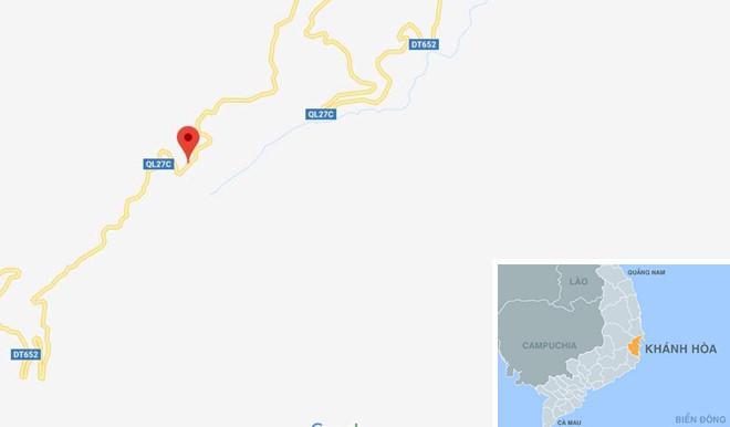 Đèo Khánh Lê nơi xảy ra sạt lở. Ảnh: Google Maps.