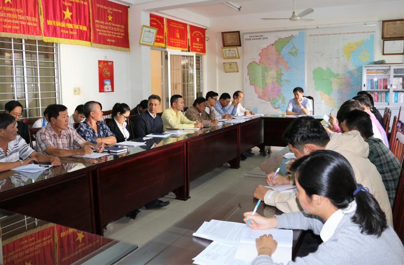 Trong cuộc họp, Sở GTVT Khánh Hòa đề nghị các doanh nghiệp vận tải khách cố định nghiêm túc thực hiện các quy định trong việc vận chuyển hành khách trong dịp Tết Nguyên đán sắp tới.