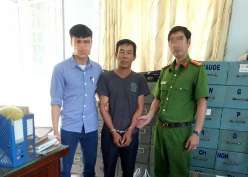 Hồ Viết Hiền thời điểm bị bắt giữ sau gần 2 năm trốn truy nã - Ảnh: Dân trí