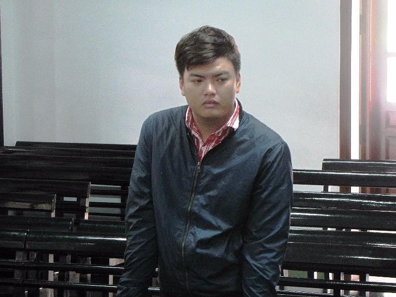 Bị cáo Sang tại tòa