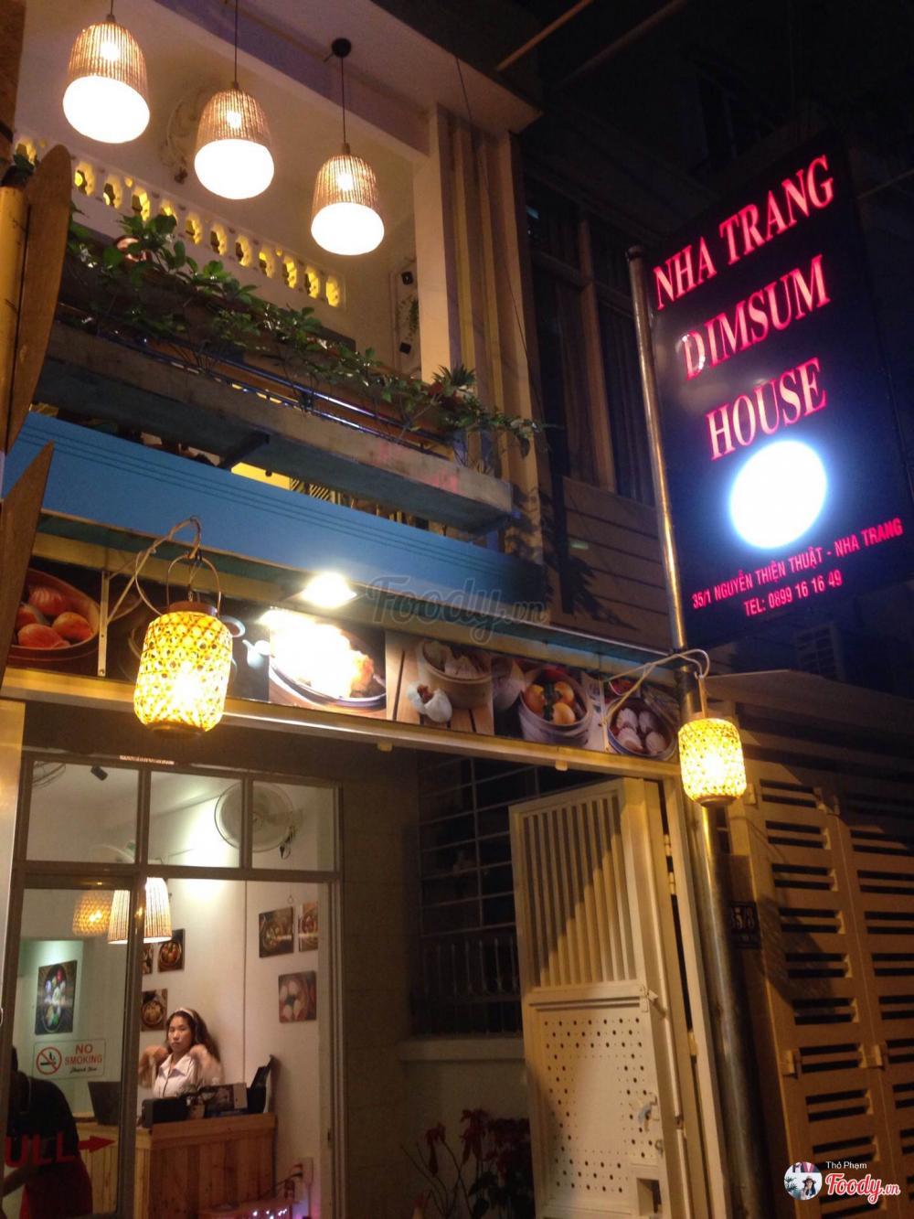 Nhà hàng Dimsum House địa điểm sống ảo mới đẹp mê hồn cho team sống ảo ở Nha Trang nằm trên đường Nguyễn Thiện Thuật. Ảnh Foody.