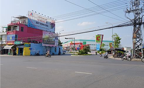 Khu vực triển khai dự án nút giao thông Ngọc Hội.