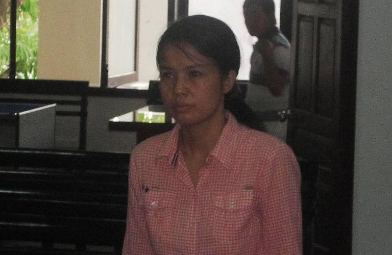 Bị cáo Phương tại tòa