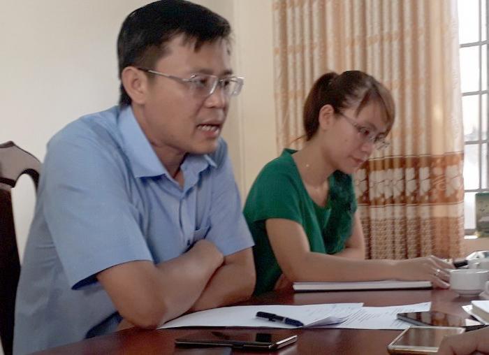 Còn ông Hà Hoàng Quỳnh - Trưởng Phòng TN&MT huyện Ea H'leo, cho rằng Phòng TN&MT chưa nhận được báo cáo vụ việc bằng văn bản của UBND xã Ea H'leo