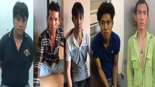 5 thành viên băng cướp cực kỳ nguy hiểm đã bị bắt giữ - Ảnh: VietNamNet
