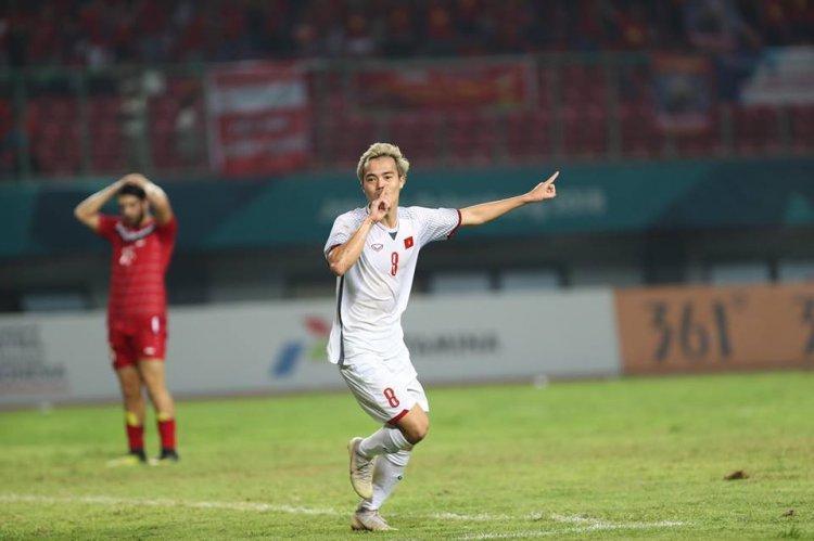 Văn Toàn đã ghi bàn thắng đưa U23 Việt Nam vào bán kết.