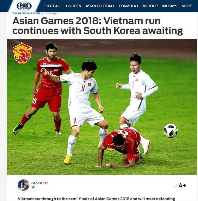 Fox Sports tin rằng U23 Việt Nam hoàn toàn có thể tạo nên sự khác biệt