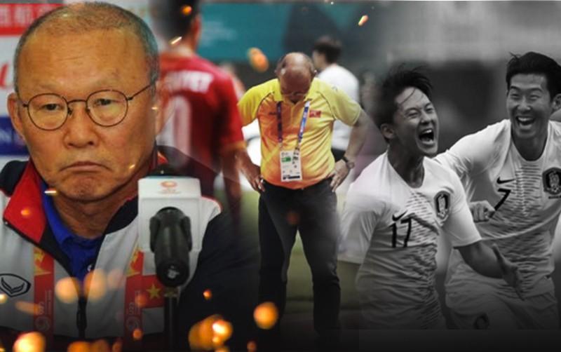 Khi cả đất nước Hàn Quốc vui mừng trong chiến thắng, chỉ duy nhất Park Hang Seo một mình cúi đầu với nỗi buồn