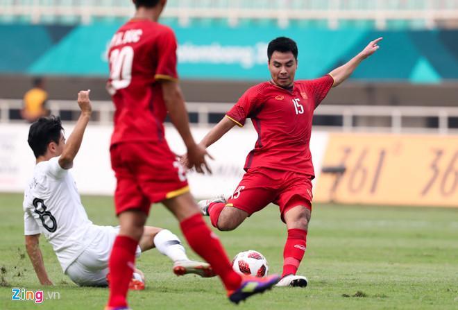 Đức Huy thi đấu không tốt ở trận gặp Hàn Quốc do thể lực chưa kịp hồi phục. Ảnh: Việt Hùng.