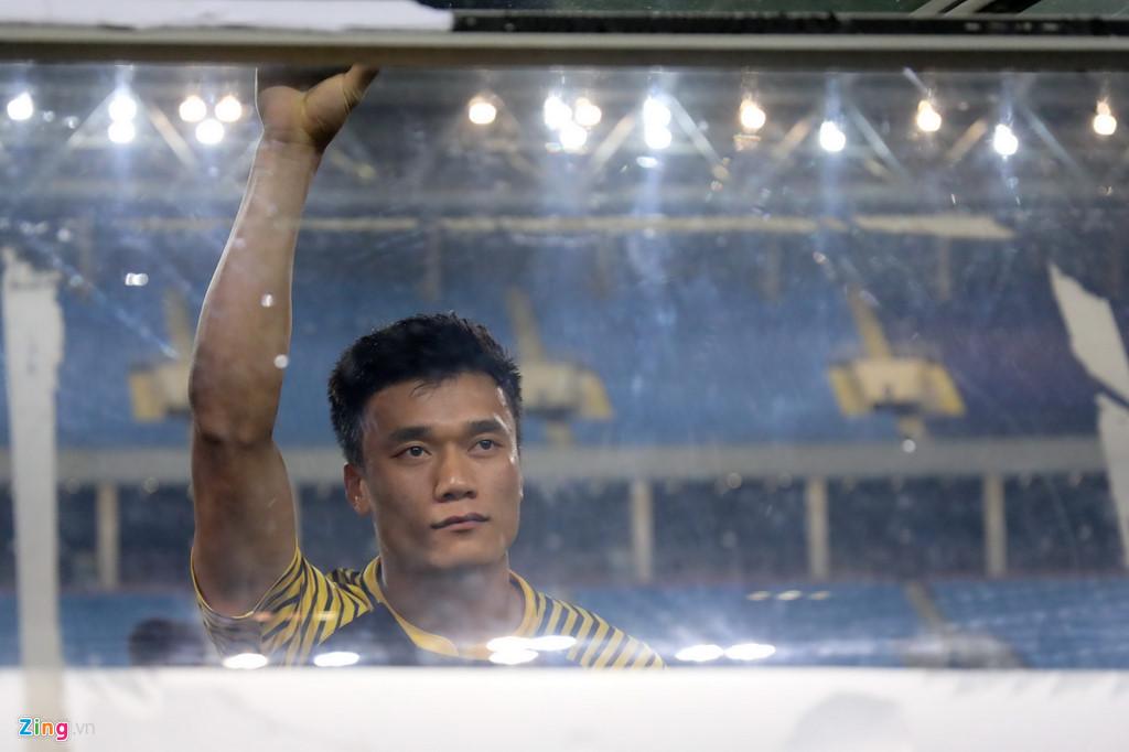 Trở về từ U23 Việt Nam, Tiến Dũng trải qua quãng thời gian khó khăn ở CLB Thanh Hóa. Ảnh: Minh Chiến.