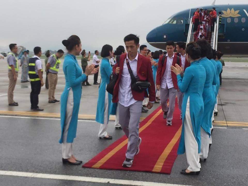 Đội trưởng Văn Quyết (Ảnh: Dân Việt)