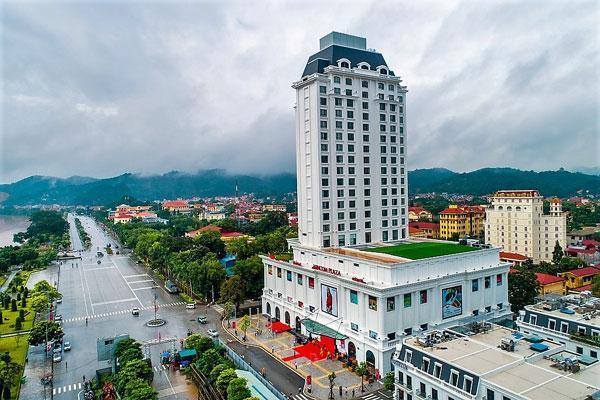 Vincom Plaza Lạng Sơn có vị trí tuyệt đẹp, nổi bật trong tổng thể kiến trúc đô thị của thành phố Lạng Sơn.