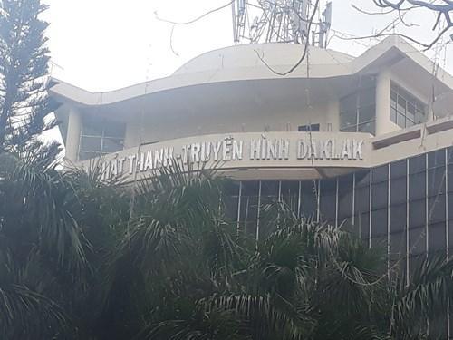 Cơ quan ngôn luận của tỉnh Đắk Lắk cũng viết sai tên của tỉnh (Ảnh: Cái Văn Long)