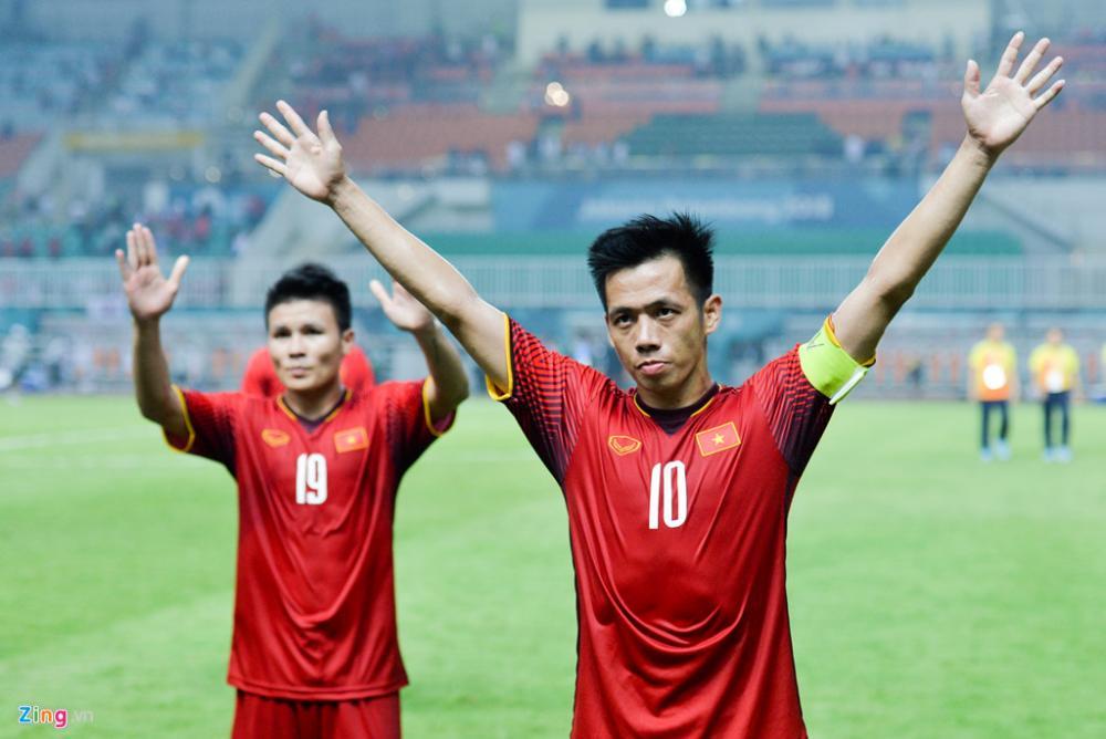 Văn Quyết luôn áy náy khi không thể cùng Olympic Việt Nam mang về danh hiệu tại ASIAD 18. Ảnh: Việt Hùng.