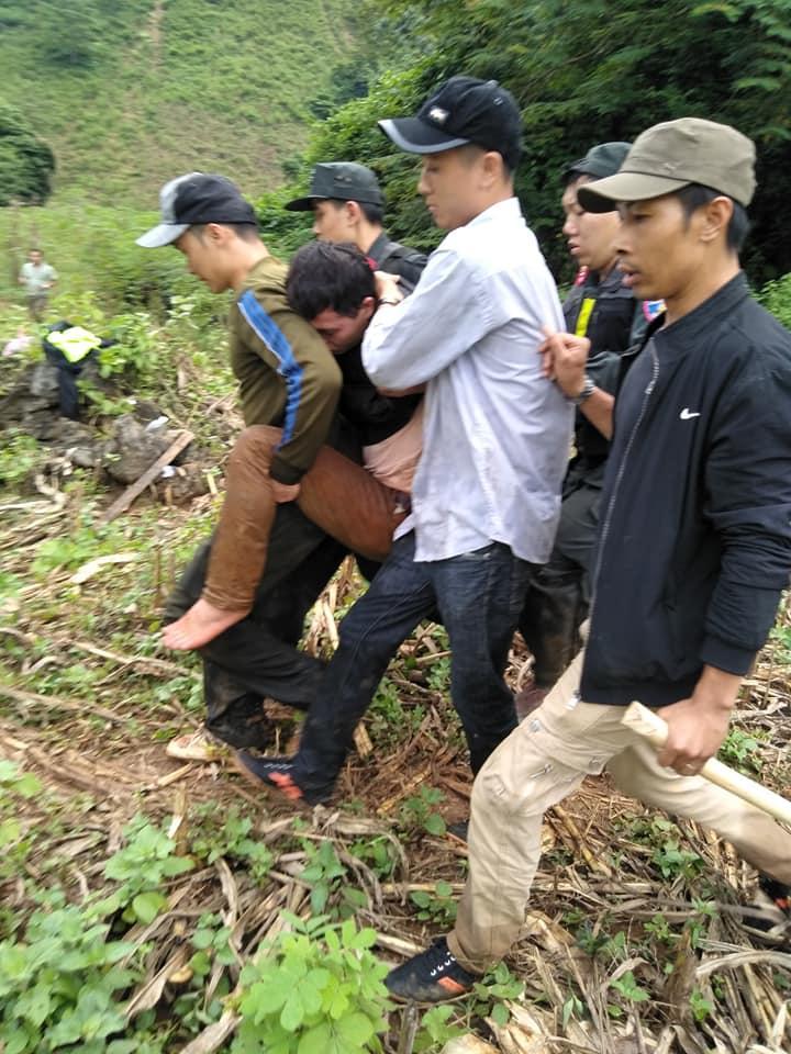 Nghi phạm Lèo Văn Hoàng bị bắt giữ