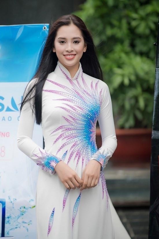 Trần Tiểu Vy, SBD 138 đến từ Quảng Nam đã gây được sự chú ý ngay từ những ngày đầu sơ khảo phía Bắc Hoa hậu Việt Nam 2018.