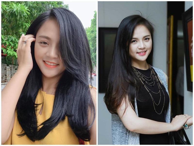 Phong cách ngoài đời của Thu Quỳnh lại rất giản dị khi để tóc suôn dài, không nhuộm. Cô chia sẻ trang phục mình lựa chọn thường hướng tới sự thoải mái.