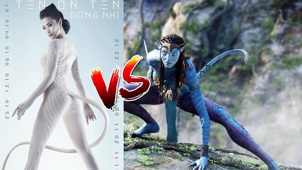 ... một người ngoài hành tinh trong Avatar