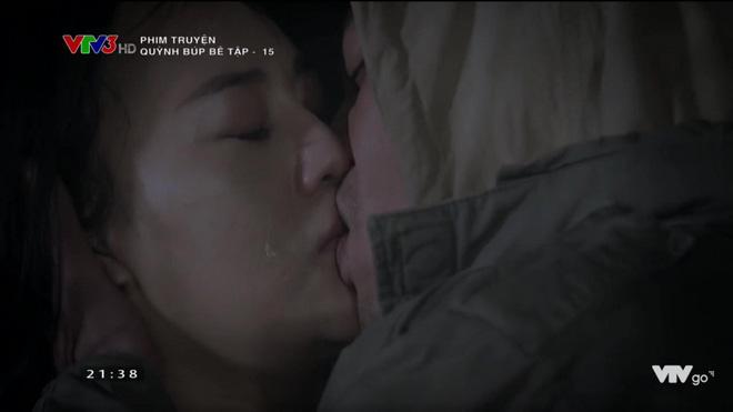 Phương Oanh khóc khi đóng cảnh hôn với Doãn Quốc Đam trong phim
