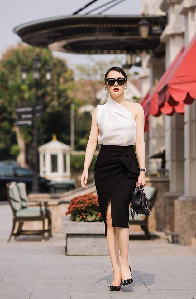 Nữ diễn viên Phương Oanh.