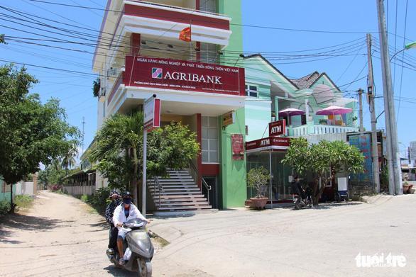 Phòng giao dịch Agribank Ninh Diêm (Ninh Hòa, Khánh Hòa) - Ảnh: THÁI THỊNH