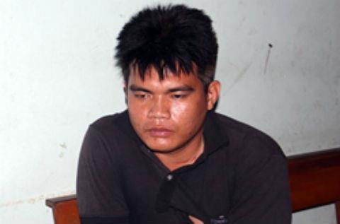 Phan Phước Hồ tại cơ quan điều tra.