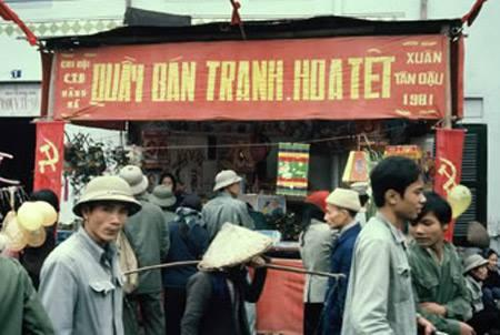 Tết Tân Dậu 1981. (Ảnh: Eva Linkskog)