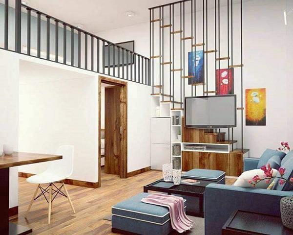 Phòng khách đủ rộng để đặt bộ ghế sofa