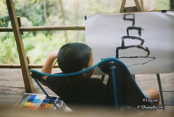 Đây cũng là cách để anh giúp con có một tuổi thơ tuyệt đẹp và giáo dục con.