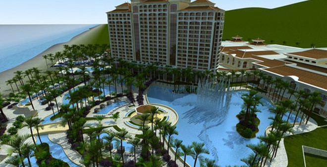 Dự án này do Công Ty TNHH Dự Án Hồ Tràm, công ty 100% vốn nước ngoài của Asian Coast Development Ltd, là một trong những công ty tư nhân Hoa Kỳ lớn nhất đang đầu tư tại Việt Nam. Theo giới của nhà đầu tư, dự án có tổng mức đầu tư 4 tỷ USD. Ảnh: TTVN.